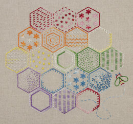 Anchor Essentials: Honeycomb Stitch Sampler Embroidery Kit