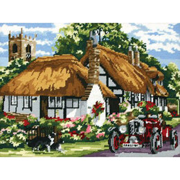 Anchor The Village of Welford Tapestry Kit - 40 x 30 cm