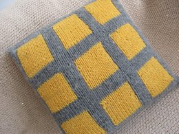 Squares Cushion Cover