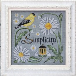 Cottage Garden Samplings There is Beauty in Simplicity (9/12) - Songbird's Garden Series - CGS48 -  Leaflet