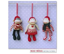 Mini Monkeys Christmas Ornament