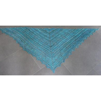 Ice Queen shawl