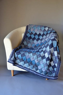 Woven Sky Throw in Universal Yarn Major - Downloadable PDF