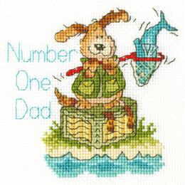 Bothy ThreadsNumber One DadCross StitchKit