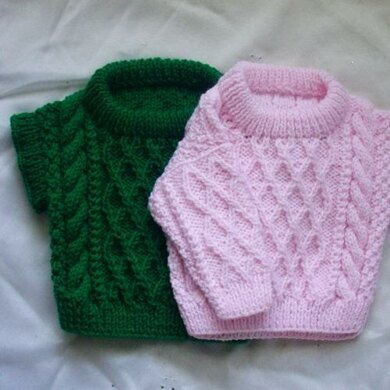 Treabhair Baby Sweater and Sleeveless Pullover