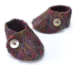 Wrap Over Baby Shoe