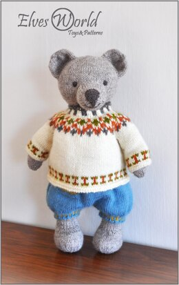 Teddy Bear and Doll Outfit