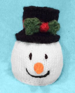 Traditional Snowman Head