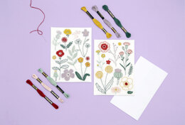 Wool and the Gang In the Bloom Embroidery Kit