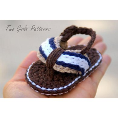 Sporty Flip Flop Baby Sandals for Boys and Girls