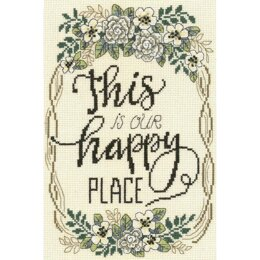 Imaginating Our Happy Place (14 Count) - 7.4in x 10in