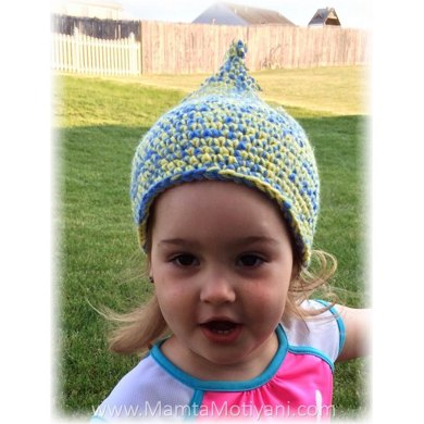 Unique Beginner Crochet Patterns : Unique Stylish & Easy Pixie Elf Beanie Crochet pattern by ...
