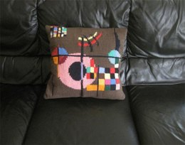 Modern Art Pillow - Kandinsky, Gravitation