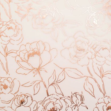 American Crafts Heidi Swapp - Care Free Vellum with Champagne Foil