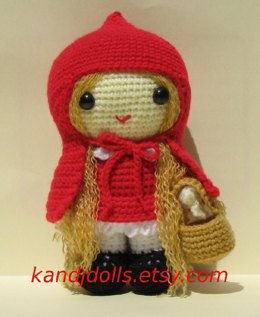 Red Ridding Hood Amigurumi Pattern