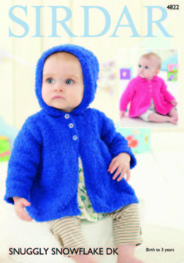 Jackets in Sirdar Snuggly Snowflake DK - 4822 - Downloadable PDF