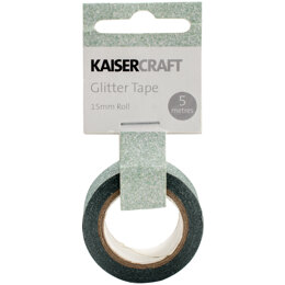 "Kaisercraft Glitter Tape .5""X16.5' - Mint"