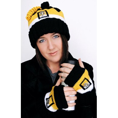 Unisex Pittsburgh Duo Hat & Mitts