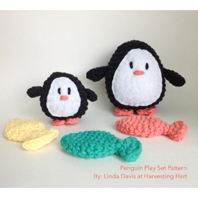 Penguin Winter Play Set Pattern