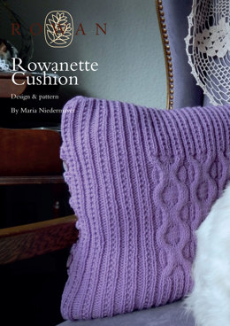 Rowanette Cushion in Rowan Pure Wool Worsted