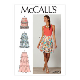 McCall's Misses' Skirts M7905 - Sewing Pattern
