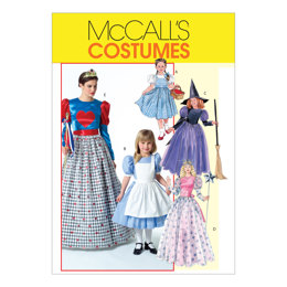McCall's Misses'/Children's/Girls' Costumes M4948 - Sewing Pattern