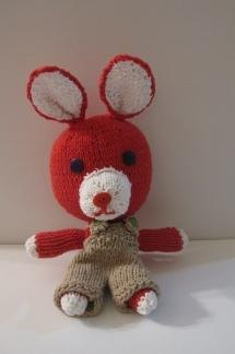 Knitkinz Red Rabbit