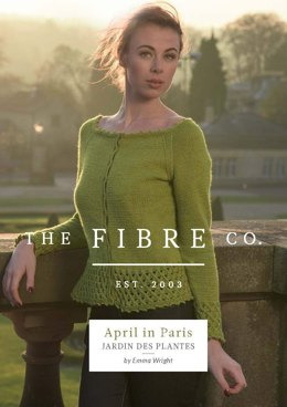 Jardin des Plantes Cardigan in The Fibre Co. Luma - Downloadable PDF