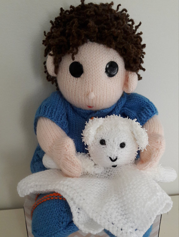 Dumpling Doll and Lovie knitting project by Bee53 LoveKnitting