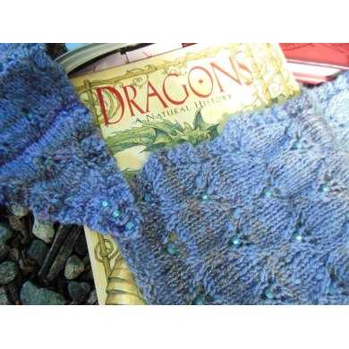 Beaded Dragon's Tail scarf