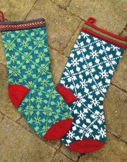 Scandanavian Christmas Stocking