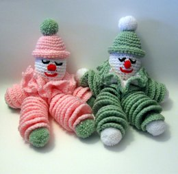 Clownie the Crocheted Clown Doll