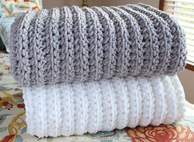 Fisherman Blanket 7252 Crochet Pattern By Carla Malcomb
