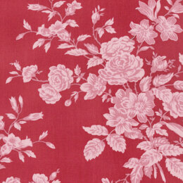 Free Spirit Shades of Rose Toile Red