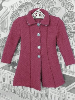 I've Been to London to Visit The Queen Coat in Susan Crawford Fenella 2 Ply