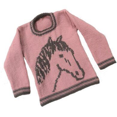 Horse on a Sweater