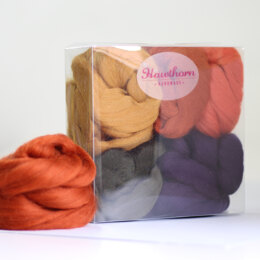 Hawthorn Handmade Autumn Wool Bundle - Multi