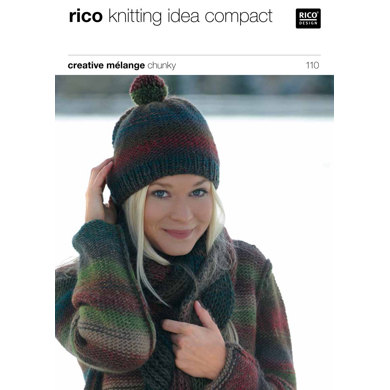 Sweater and Hat in Rico Creative Melange Chunky - 110