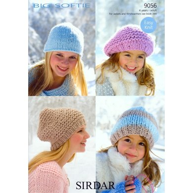 Hats in Sirdar Big Softie - 9056