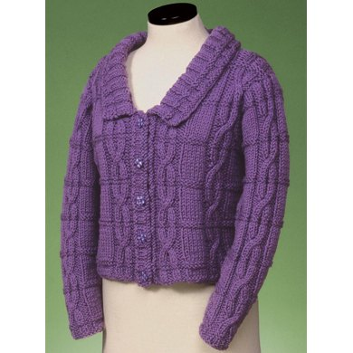 Cable and Rib Cardigan 129