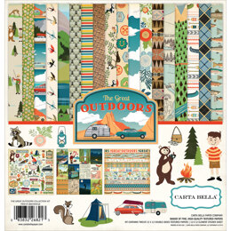 """Echo Park Paper Carta Bella Collection Kit 12""""X12"""" - Great Outdoors"""