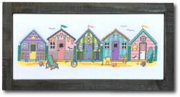 Tiny Modernist Little Beach Huts - Leaflet