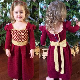 Princess Ansleigh's Sweet Heart Dress - Size 2T/3T Girls