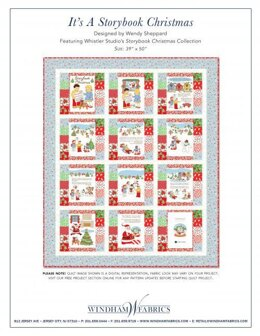 Windham Fabrics It's a Storybook Christmas - Downloadable PDF
