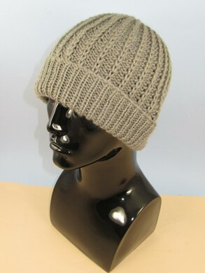 Chunky Simple Fishermans Rib Beanie Hat Knitting pattern by ... 6dce211938d