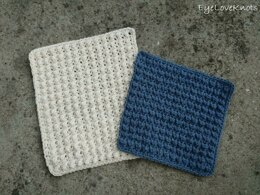 Textured Pebble Washcloths
