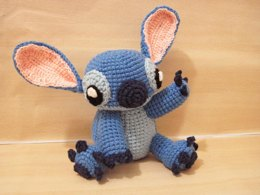 Amigurumi Stitch! from Lilo and Stitch
