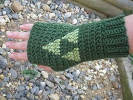 Triforce mitts, Legend of Zelda