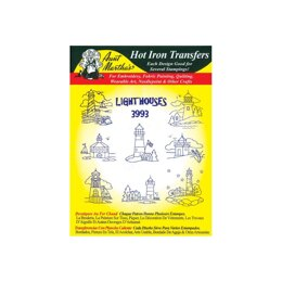 Aunt Martha's Hot Iron Transfers - Cross Stitch & Quilt Blocks - TP104 - Leaflet