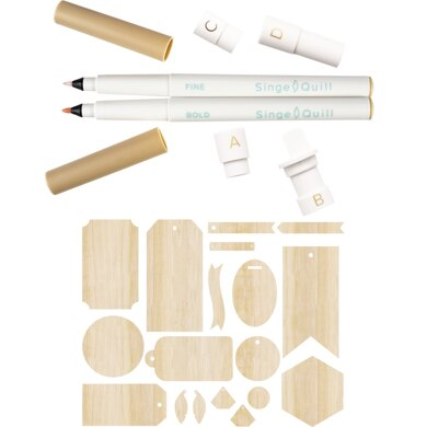 We R Memory Keepers Singe Quill Starter Kit - 611055